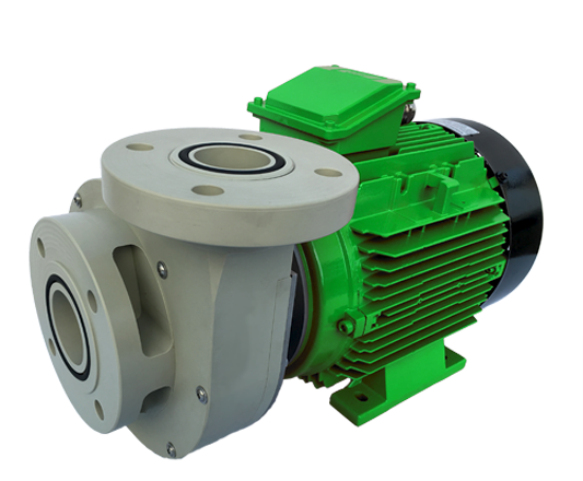 centrifugal pump with mechanical seal, normal suction