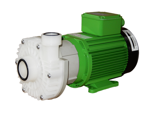 magnetically coupled centrifugal pump, normal suction